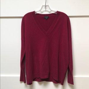100% cashmere boyfriend style sweater
